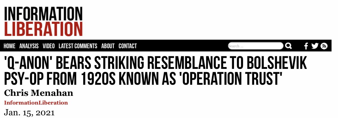 """An0maly ar Twitter: """"""""Operation Trust"""" was a Bolshevik counterintelligence  operation run from 1921 to 1926 aimed at neutralizing opposition by  creating the false impression that a powerful group of military leaders had"""