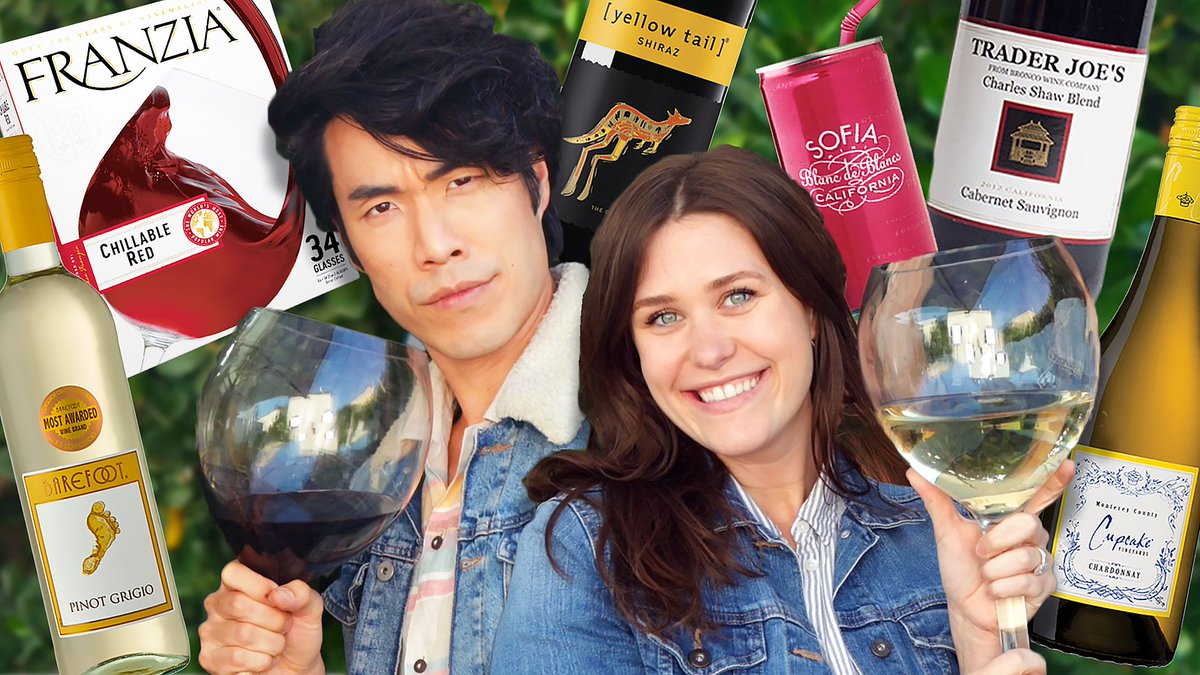 The King is back and he's got a new Queen at his side! Eugene and the Regal Rank Wife, Becky are ranking the cheapest of wines! 🤴🏻🍷