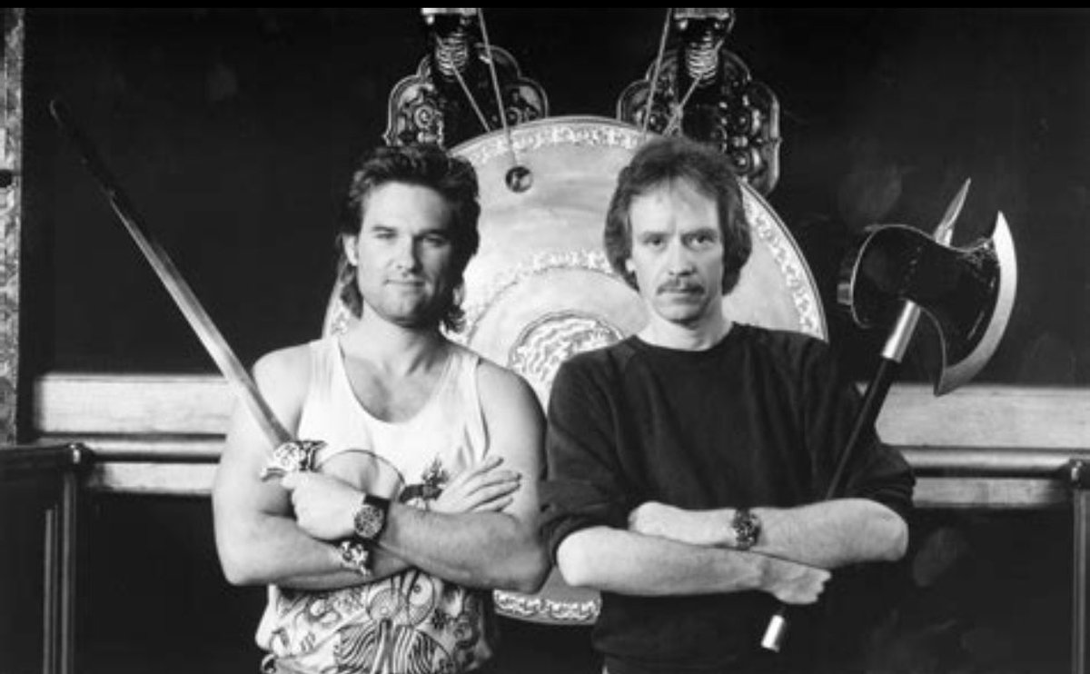 #HappyHorrorBirthday to @TheHorrorMaster I'm such a fan of so many of your works! #Halloween #TheyLive #BigTroubleInLittleChina #TheFog