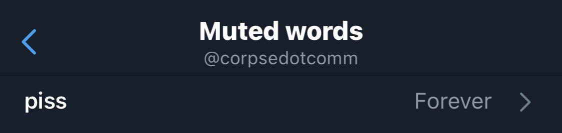 Replying to @corpsedotcomm: self care