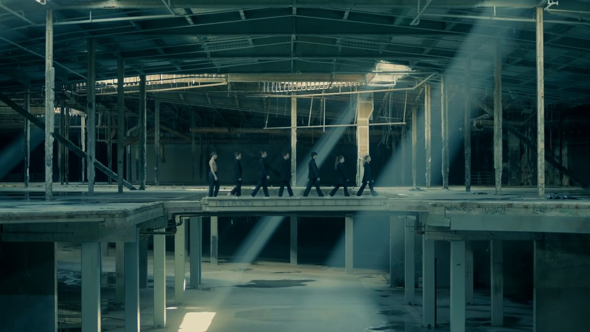 i don't feel like we talk enough about how this art film (and song as a whole) was their contribution to #CONNECT_BTS   • #1YearWithBlackSwan