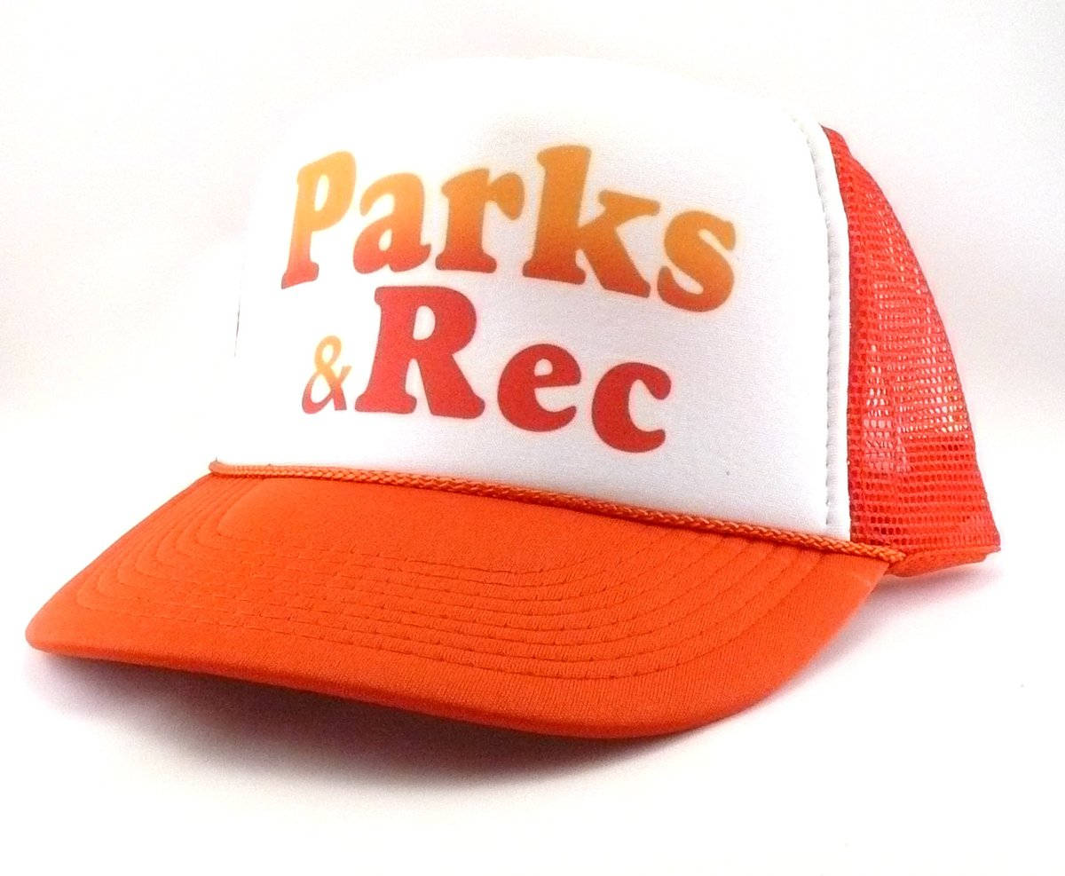 Excited to share the latest addition to my #etsy shop: Parks and Recreation Trucker Hat Mesh Hat Snap Back Hat tv show hat  #birthday #christmas #preppy #parksandrechat #tvshowhat #truckerhat #meshhat #parksandrecreation #recreationhat