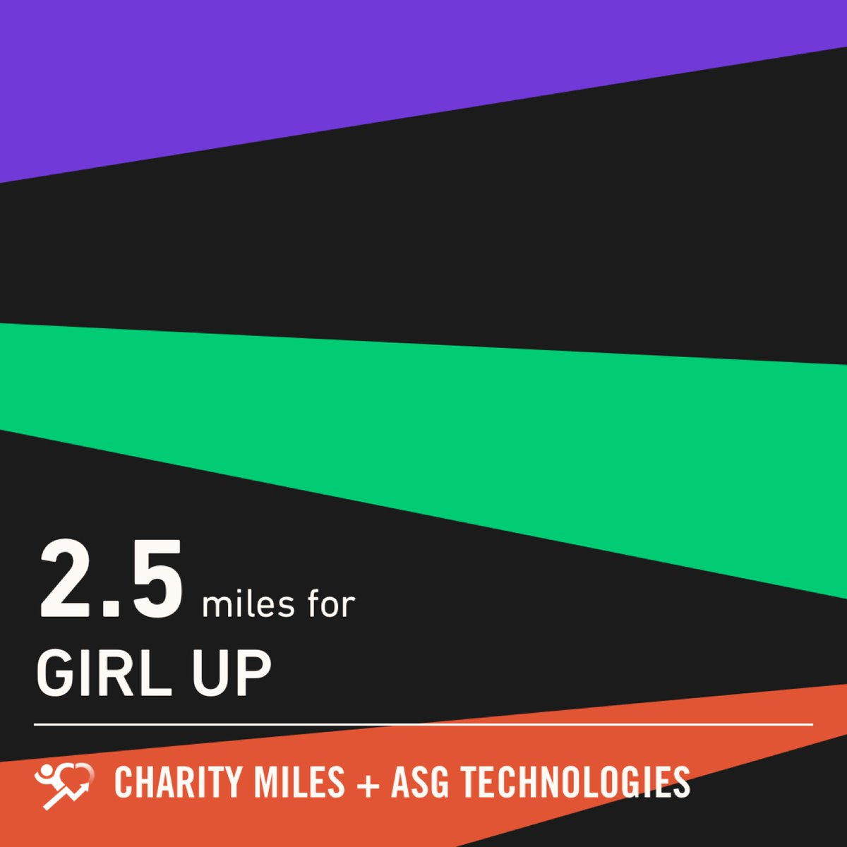 #everymilematters  2.5 @CharityMiles!