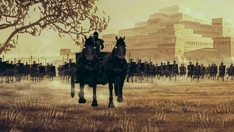 """🎥 Retrouvez la série documentaire """"Les Grands Mythes"""" en accès libre et gratuit sur @ARTEfr !  Cette co-production #Louvre revisite en 10 épisodes l'Iliade, l'épopée homérique contant la guerre de Troie.   Par ici 👇"""