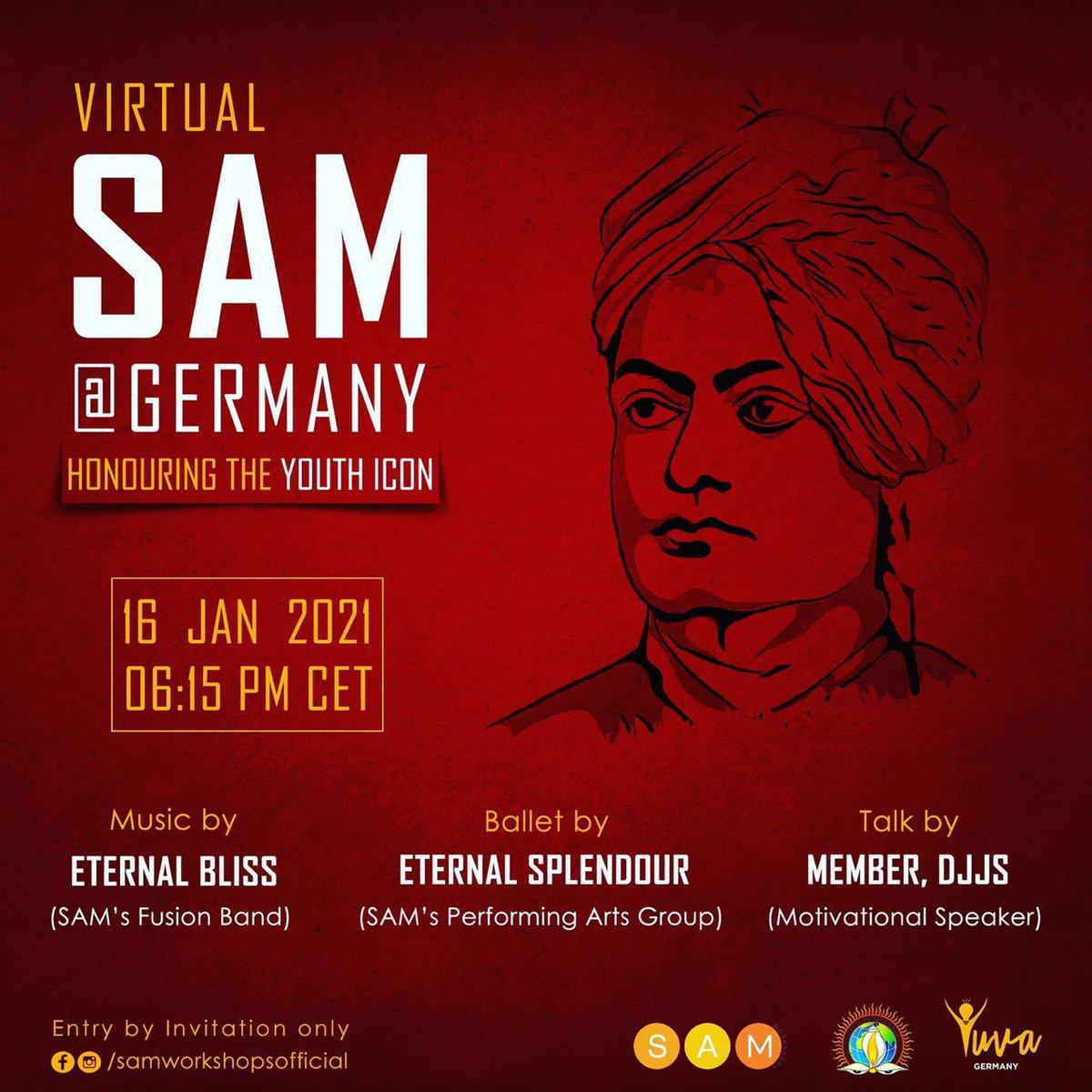 Live in 15 minutes !!!   #SwamiVivekanandaJayanti #SwamiVivekananda #SAM #YouthIcon #yuvashakti #knowthyself
