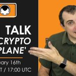Image for the Tweet beginning: One hour until The #Crypto