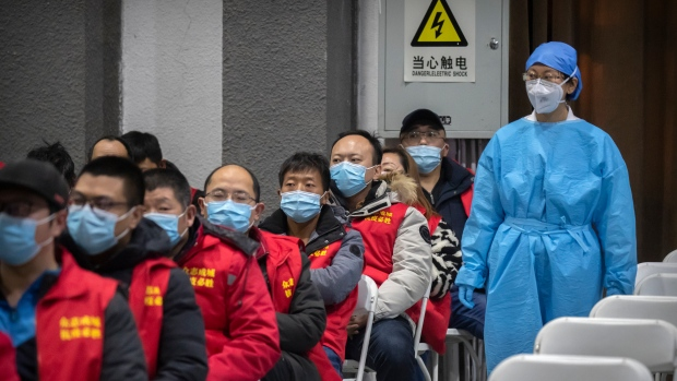 China builds hospital in 5 days after surge in virus cases