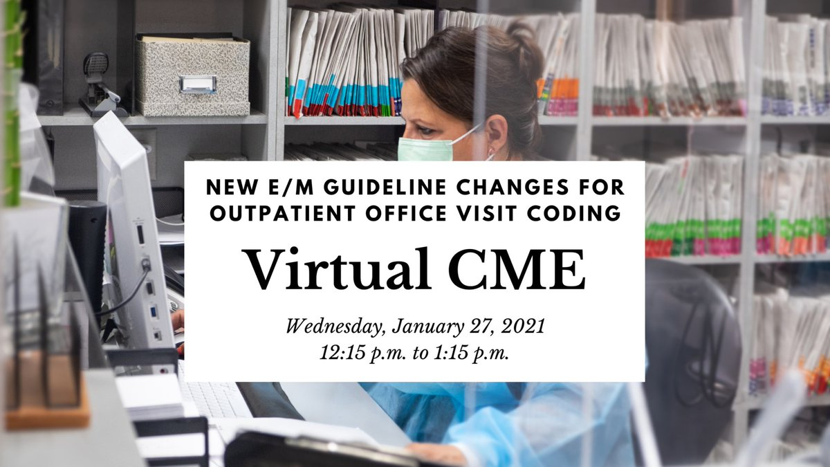 test Twitter Media - We are hosting a Virtual CME about the new E/M coding guideline changes on January 27. It is $20 for CAFP members, and $30 for non-members. Details here:  https://t.co/vPLBynAsLb https://t.co/0EVIGSIeTP
