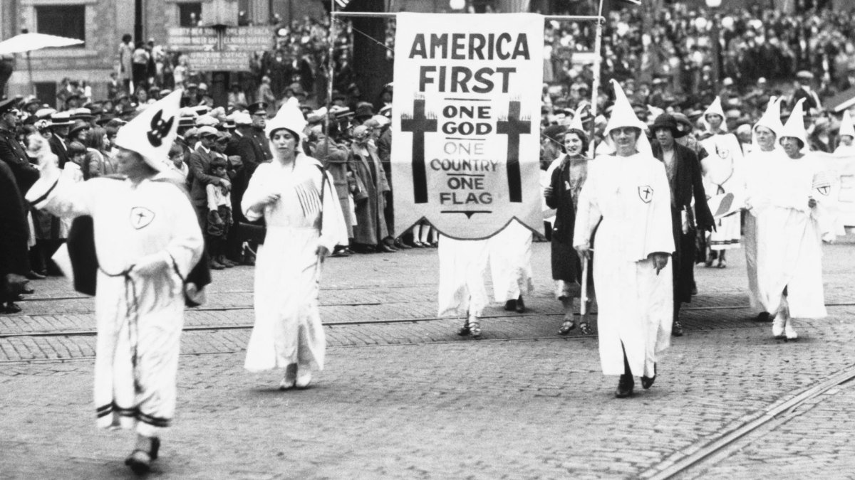 Nothing new about America First, been around a while