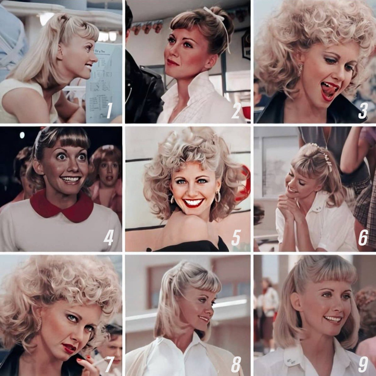 I'm a mix of Sandy 5 and 7 today.    #Grease is now streaming on @Tubi for F R E E.