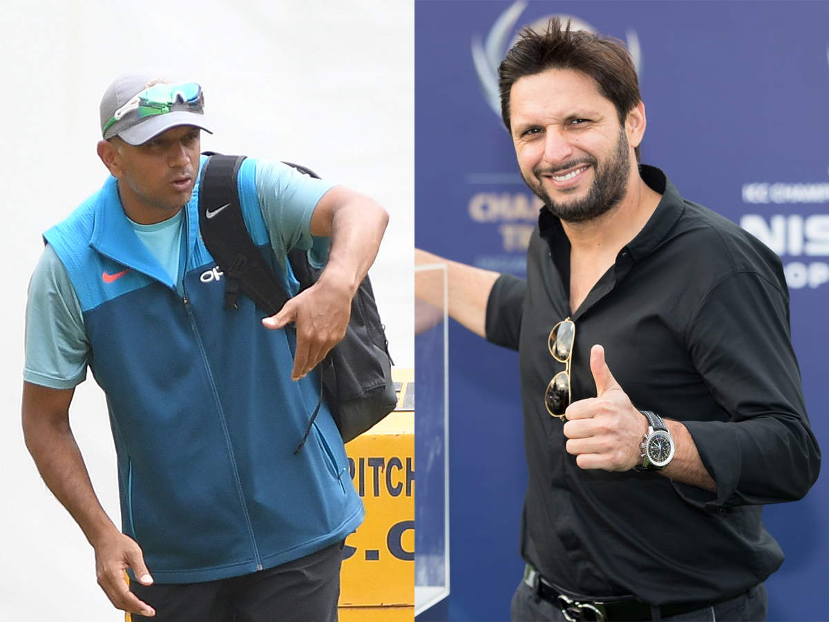 #Cricket   @SAfridiOfficial asks former Pakistan greats to follow Dravid's footsteps in grooming young talents   Read: