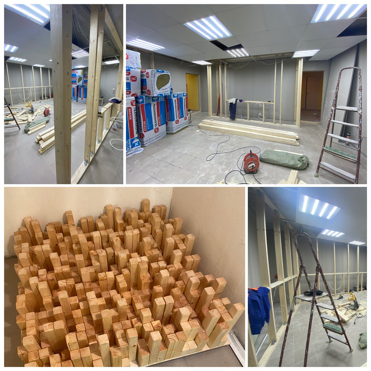 Control room building process #protools #nuendo #foleystudio #postproduction #filmmaking #audiopost #foley #audiopostproduction #sounddesign #foleyartist #foleyfirst #soundediting