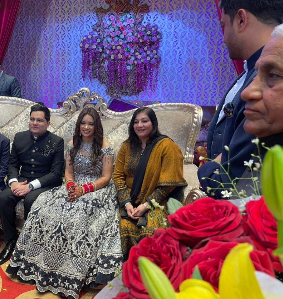 Replying to @preeti_chobey: Heartiest congratulations to Akash sir & Dr Babita.... @akashtomarips