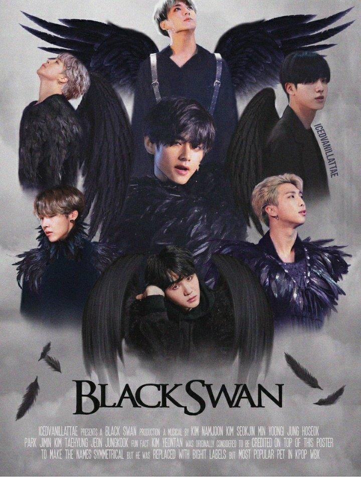 Сегодня ровна год прекрасный песней Blak swan😭💜 Today is exactly one year of the song Black Swan Настоящий Шедевр🤤💜 #withbtskz #BTSARMY  #1yearwithblackswan