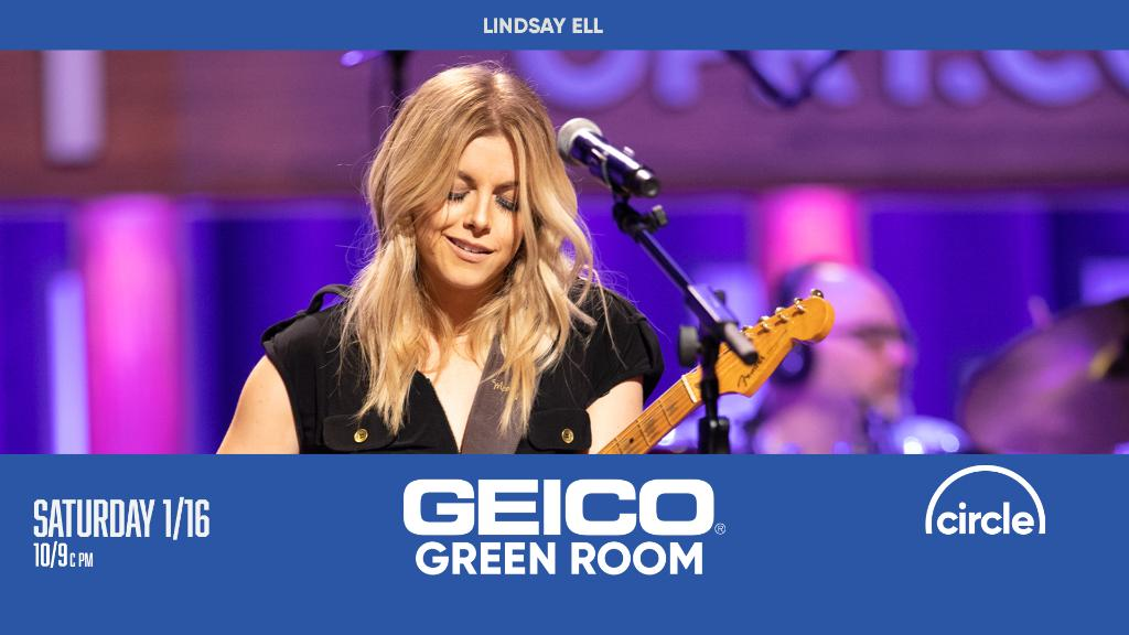 Join our friends at @CircleAllAccess and @GEICO for the #GeicoGreemRoom tonight after the Saturday Night Grand Ole Opry Show!   Tune in at  to see @lindsayell this week!