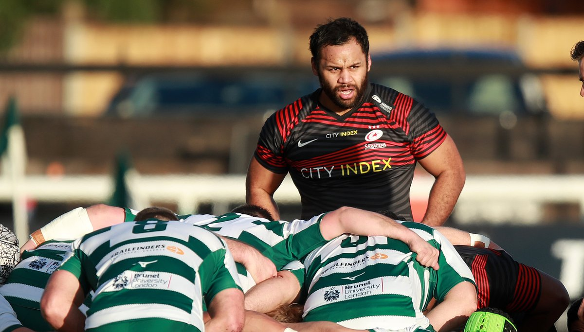 test Twitter Media - Excellent result for Ealing Trailfinders 👏  Billy Vunipola played 80 minutes as Saracens were beaten 27-26 on their return to action.  England boss Eddie Jones watched on in west London. https://t.co/axauE1j4qg