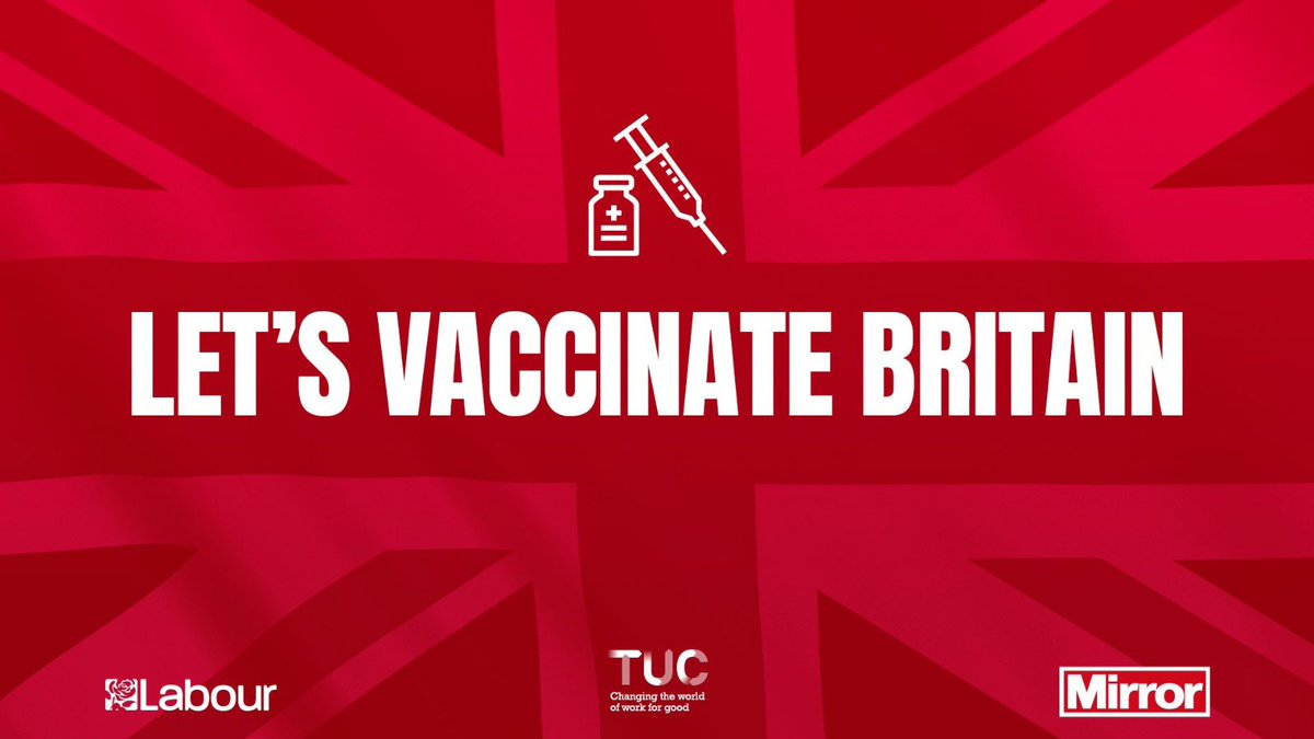 It's fantastic to see so many people receiving the vaccine. Thank you to our amazing NHS staff and all those making it happen. #LetsVaccinateBritain