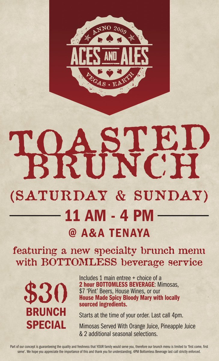 Join us again this weekend for *TOASTED BRUNCH at @ACESANDALESTENA   #brunch #brunchbrother #drinks #drink #drinking #weekend #weekendvibes #WeekendWisdom #weekendmood #SaturdayMorning #SaturdayVibes #SaturdayMotivation #SaturdaySocial