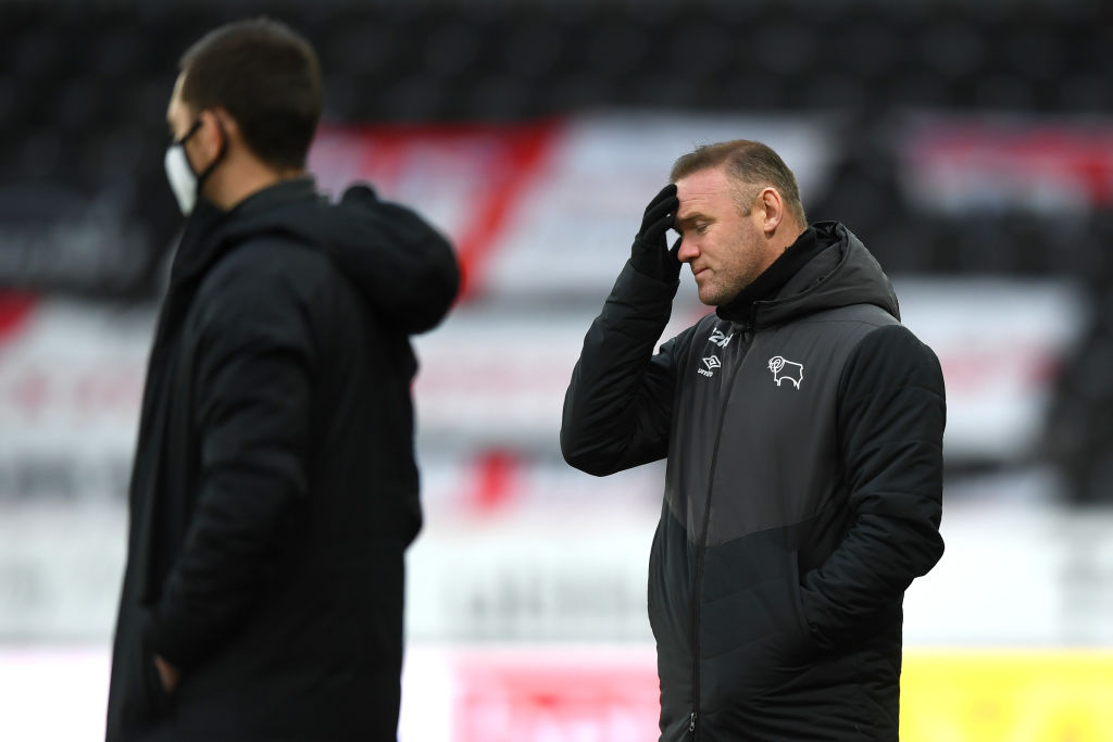 Rotherham's late winner spoiled Wayne Rooney's first match as Derby's permanent boss.  More:    Report:#bbcfootball #bbcefl #dcfc