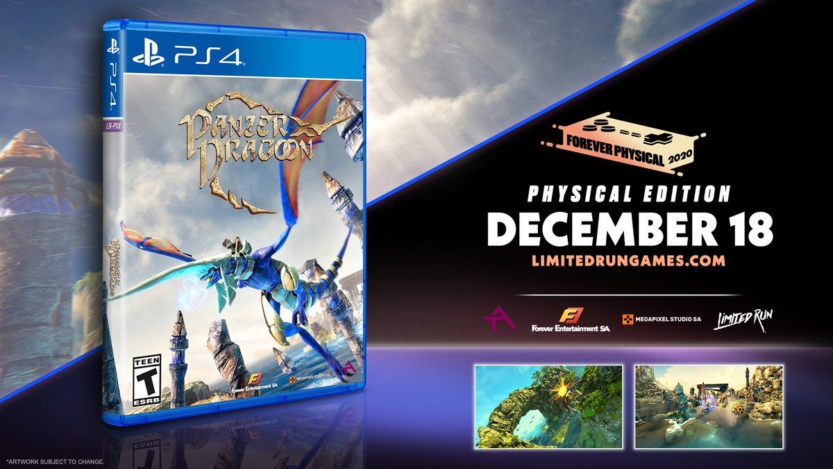 Pre-orders for Standard & Classic Editions of Panzer Dragoon for the PS4 end TOMORROW at 11:59pm ET!  Head on over to  and grab your copy while the pre-order window is still open!