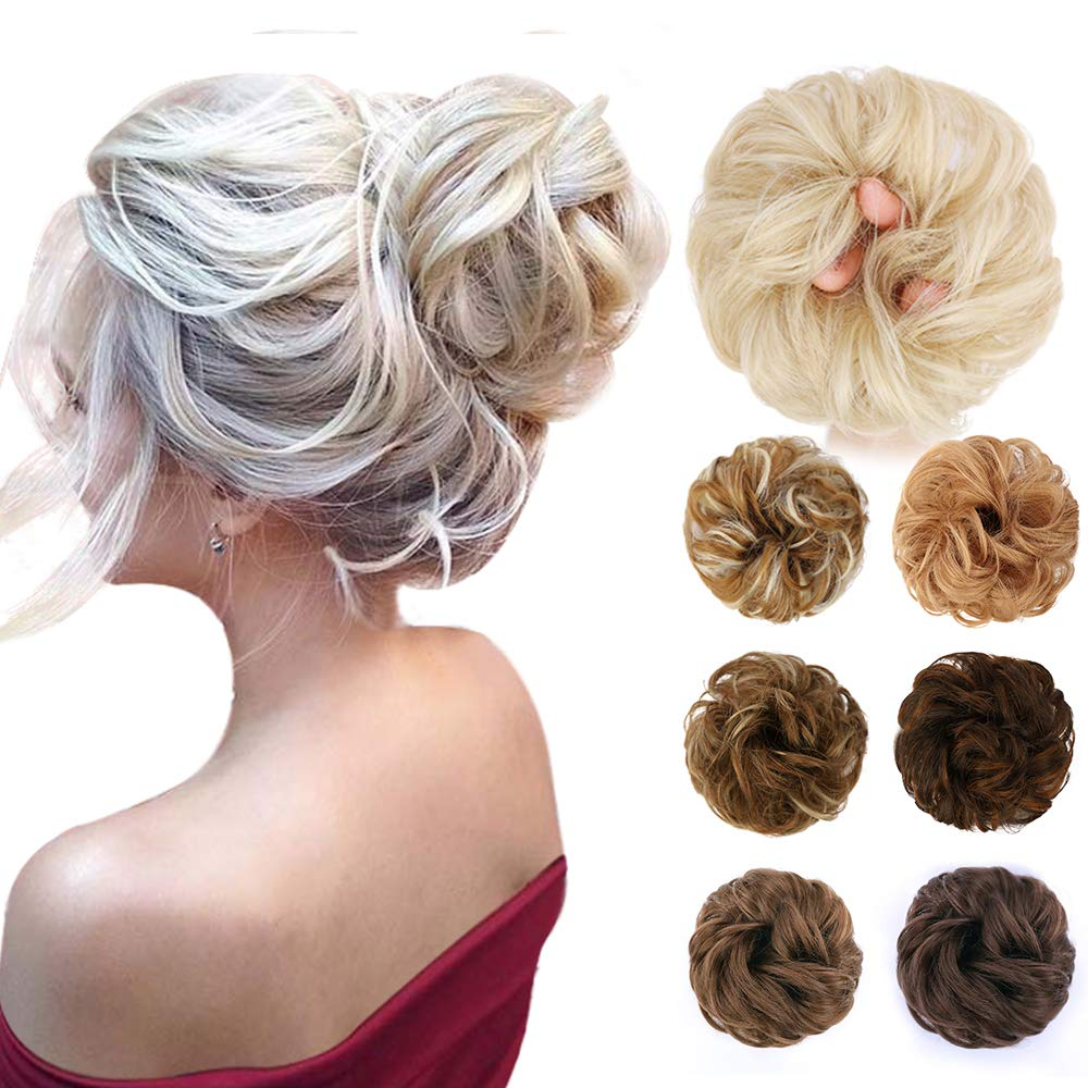 HMD Messy Hair Bun Hair Piece Synthetic Messy Curly Hair Scrunchies Hair Bun Extensions for Women and Girls Messy Donut Updo Chignons Hair Piece for Wedding or Daily wear. #BLACKPINK #AmazonPrimeVideo  #BowWow #1YearWithBlackSwan #Caturday #GoPackGo