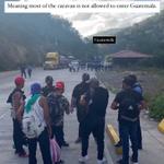 Image for the Tweet beginning: Avanza una nueva caravana de