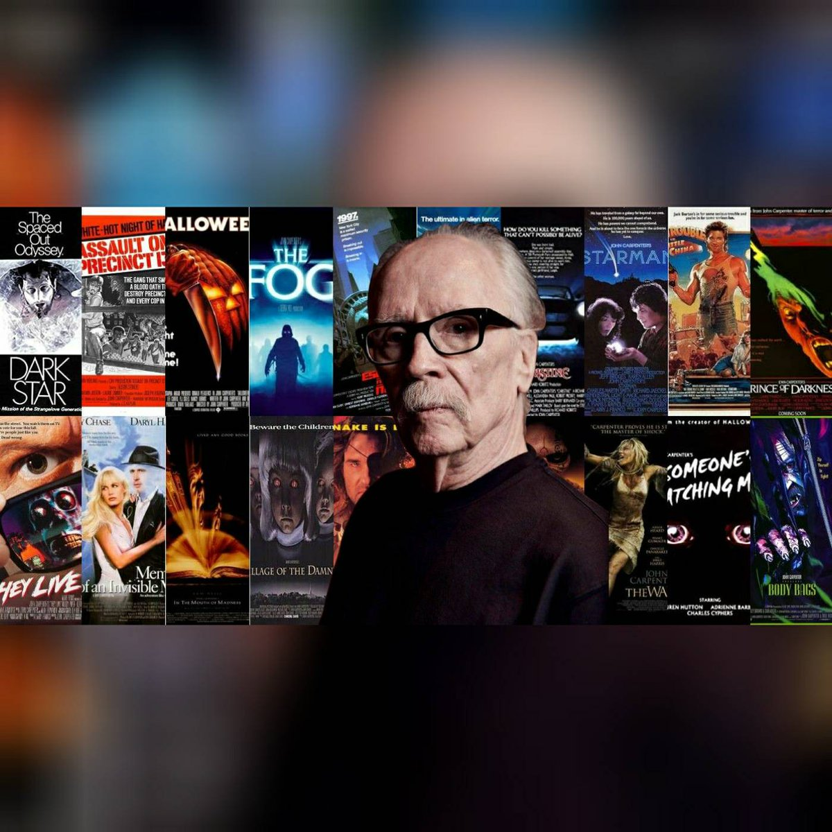Wishing the talented & legendary John Carpenter a happy birthday today!! 🎉🎂🎁 . . . . Picture credit: Screen Rant #johncarpenter #happybirthday #filmdirector #composer #producer #screenwriter #actor #halloween #thething #theylive #christine #thefog #inthemouthofmadness