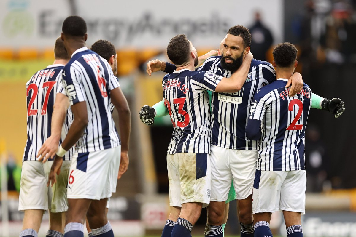 Delighted to make my debut and play my first game in a long time, but more importantly what a great win that is the boys were tremendous @wba 🔥