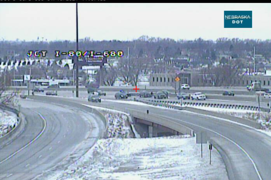 Image posted in Tweet made by Omaha Hwy Conditions on January 16, 2021, 5:30 pm UTC