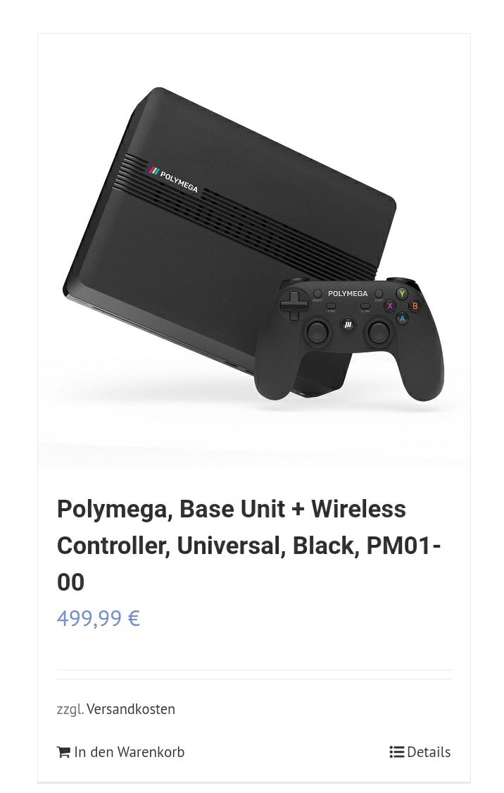 Man the #polymega got even more expensive now on @GmbhWorldwide. Last time I checked it was 459,99€ with shipping  included.