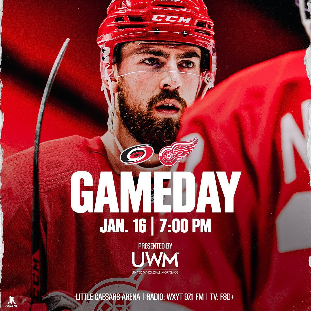 #Detroit Red Wings: Game 2, let's get it! ##LGRW...       #DetroitRedWings #Hockey #IceHockey #Michigan #NationalHockeyLeague #Nhl #NHLEasternConference #NHLEasternConferenceAtlanticDivision #RedWings