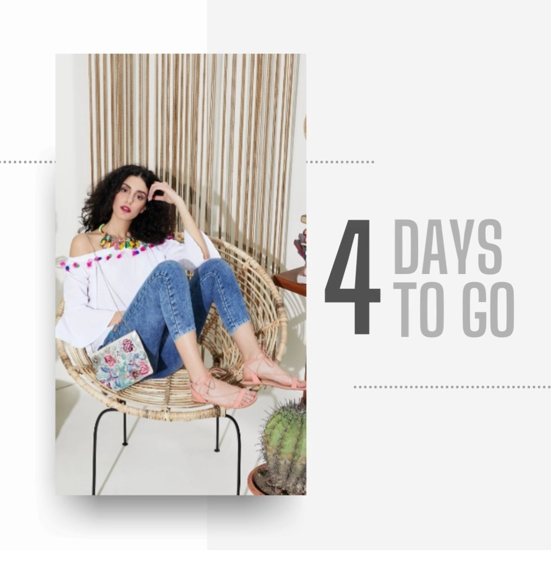4 days to go for the #AmazonGreatRepublicDaySale! Get ready to grab all things fusion and fashion at amazing discounts:  . .  #NewBeginningBigSavings #Sale #Discount #Offers #Brands #AmazonFashion #AmazonBeauty #HarPalFashionable