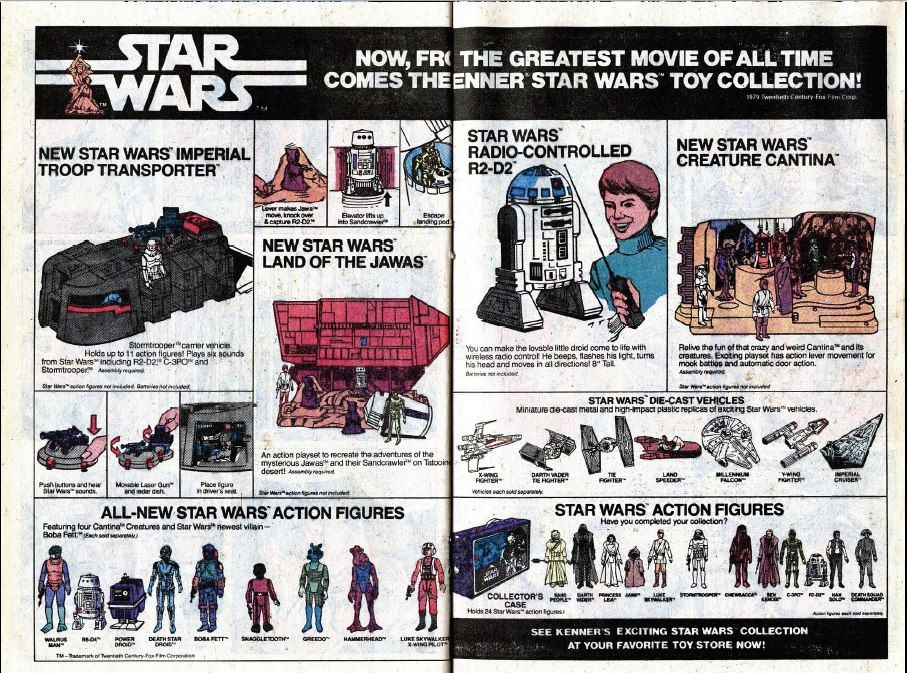 When I was a kid I would have killed to get my hands on that Sandcrawler!