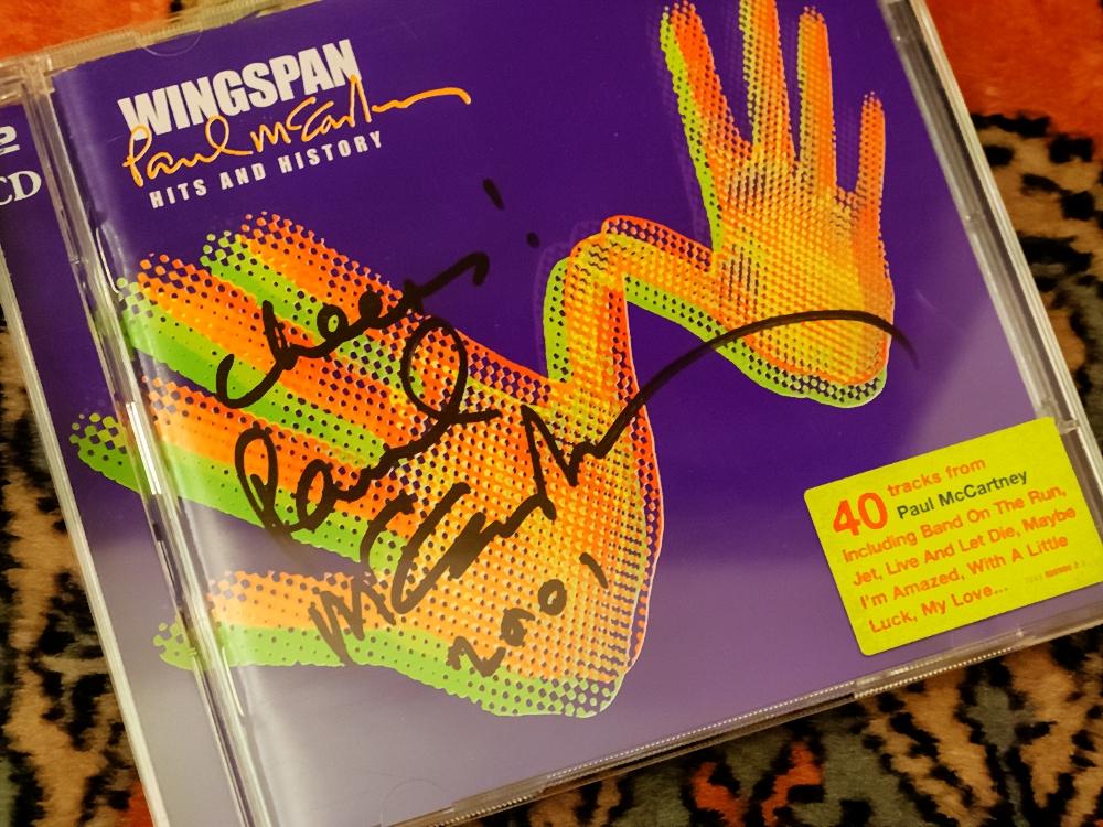 もう20年経ったんだ・・・ポールよりもこっちの方が年を取ったような気がする。  #Wingspan  #McCartneyiii (←関係ないけど) #PaulMcCartney