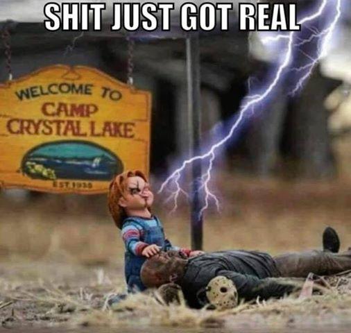 Horror mashup #Halloween on my blog  #gore