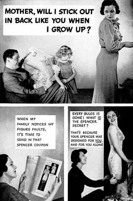 1930s Advert for Spenser Corsets