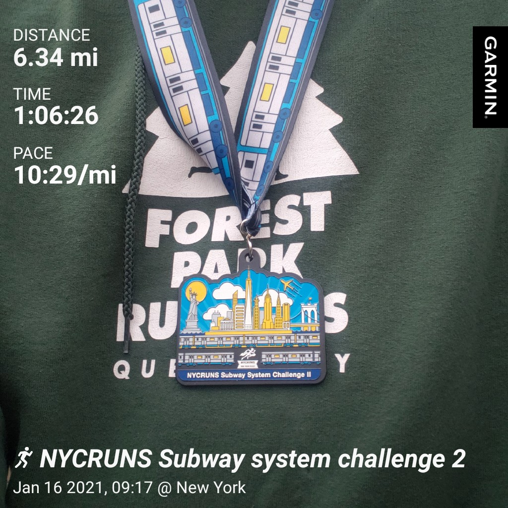 #garmin #beatyesterday long run today @NYCRUNS complete the subway system challenge.   🙌🏿   #runningcommunity #teamultra