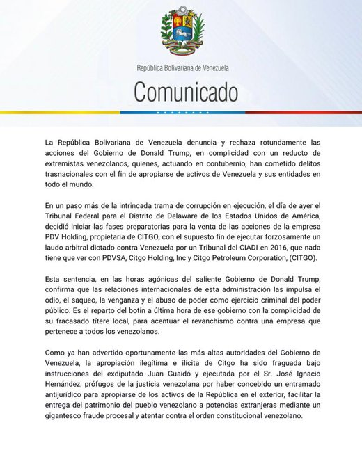 LA DEBACLE DE PDVSA - Página 24 Er3x0hbXcAA6zQg?format=jpg&name=small