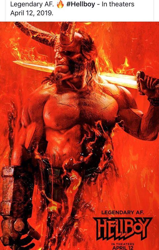 Hellboy poster #Halloween on my blog  #gore