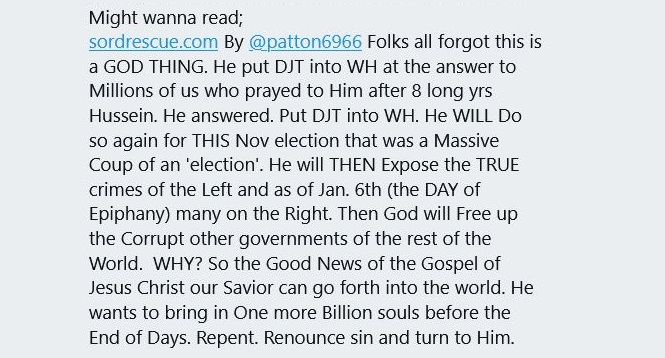 Got this in my DM this morning. These people need deprogramming.🤪😜  #Saturday #SaturdayMorning #SaturdayThoughts #MAGAInsurection #Cult45 #MAGACult