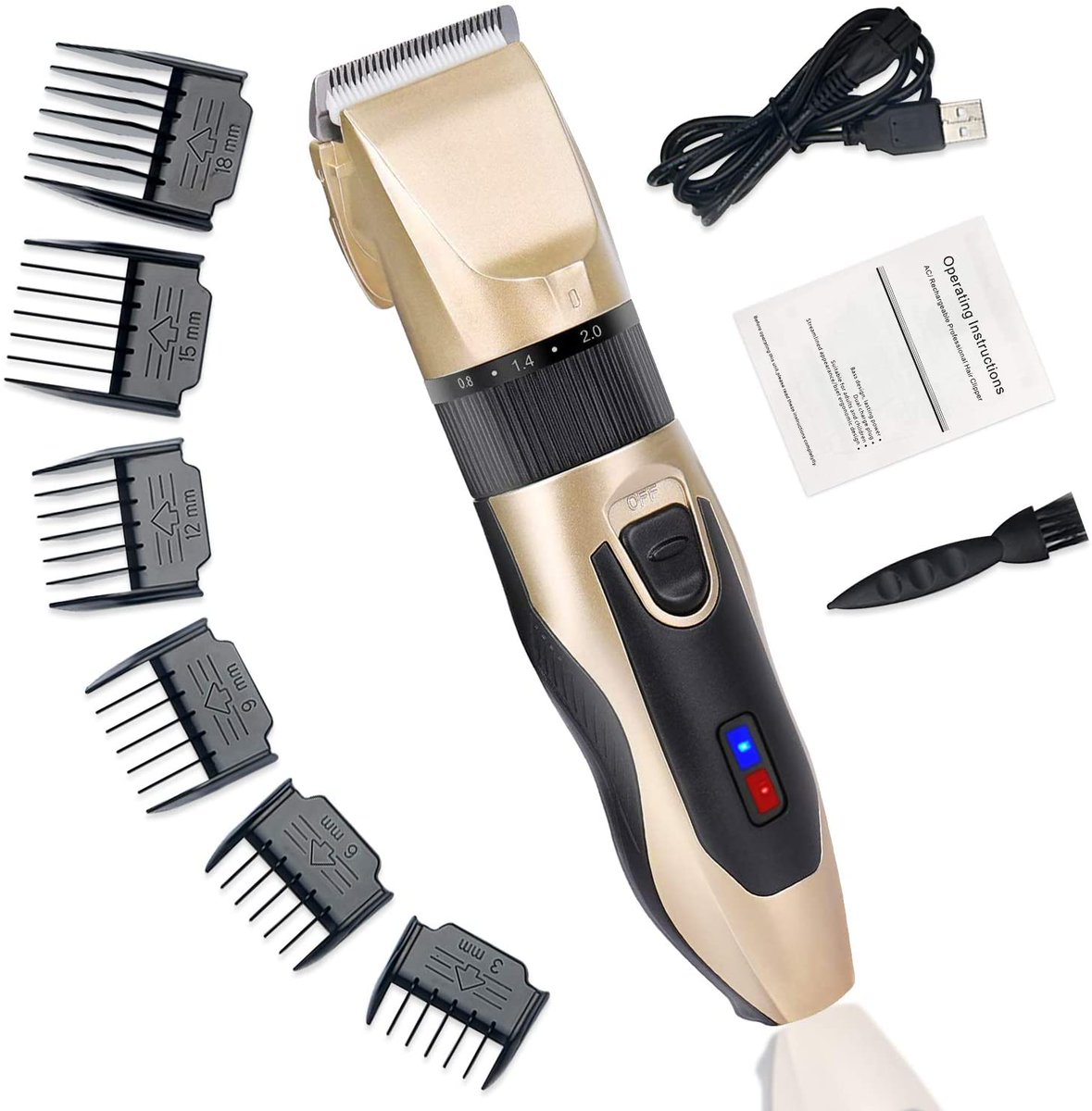 Cordless Hair Trimming Kit for $10.80  Use Promo Code 7082JJO8     #deals #Amazon #Steals #bargains #deal #dealoftheday #discounts  #sales #grooming #barber #NaughtiasDeals #salon #hair