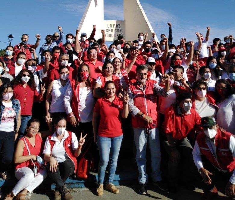 FMLN renueva compromiso de seguir construyendo la paz