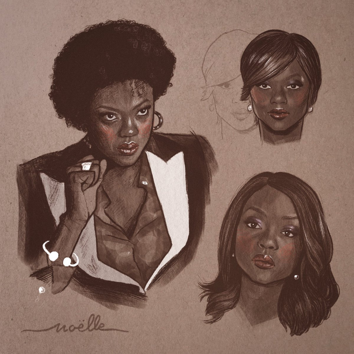 """""""Whatever you say to the police can and will be misconstrued to support the prosecution. So when in doubt, shut your mouth."""" — Annalise Keating  RTs appreciated ♥️ #HTGAWM   🎨"""