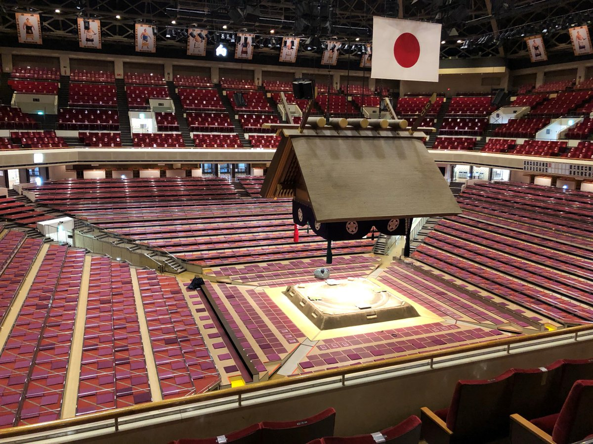 <八日目の様子> 取組開始9:55、十両土俵入14:40、幕内土俵入15:45開場時間13時本日の取組表【AbemaTV大相撲】では取組開始より、ご覧いただけます。(無料)#相撲 #1月場所 #初場所