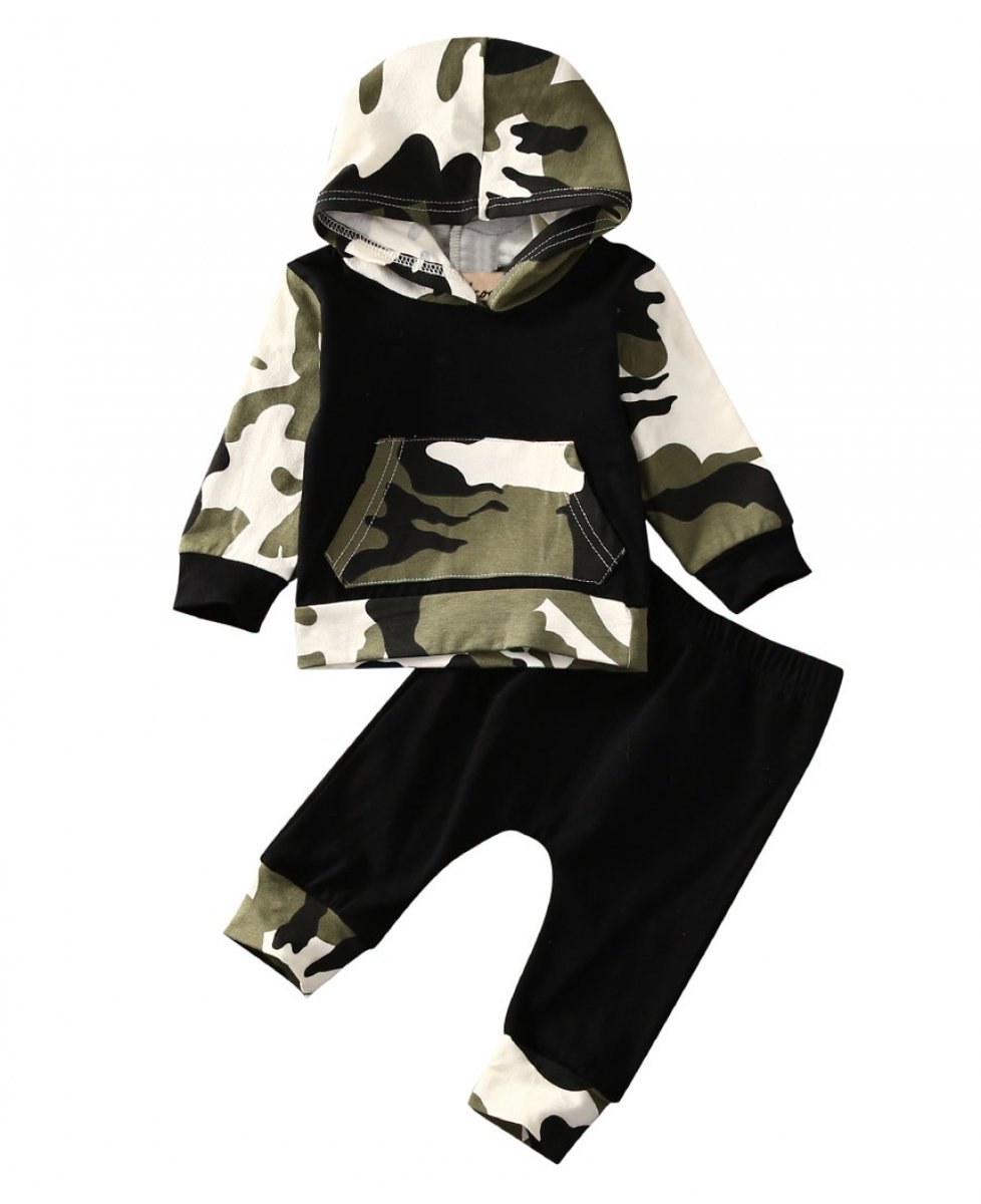 Camouflage 2Pcs Baby Sets Outfit  #KidsFashion