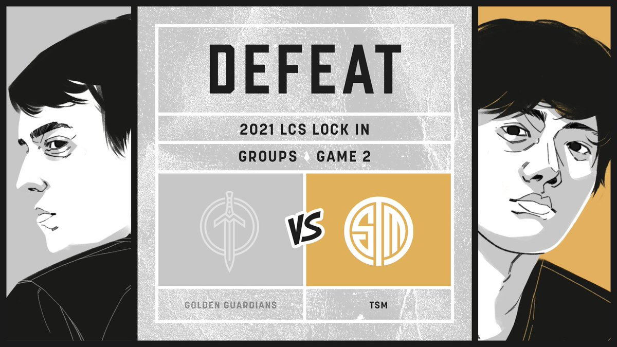 Golden Guardians - Narrowly not enough.   Well played to @TSM, looking forward to the next time.