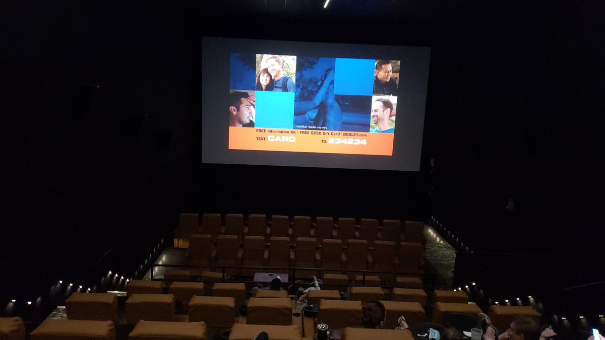 #socialdistancing at the #theater #SMG @studiomoviegril #GreatJob! #SimplySafe