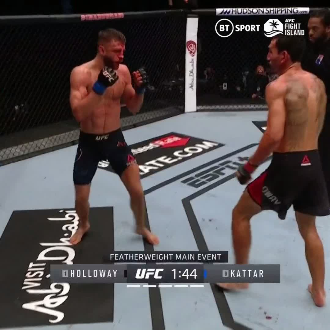"Max Holloway shouting ""I'm the best boxer in the UFC"" at the commentary desk while slipping punches is one of the baddest things to ever happen in the UFC."