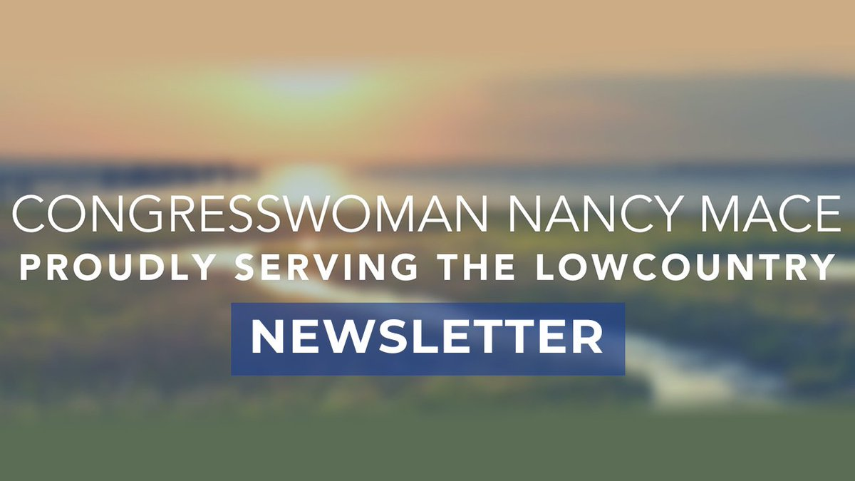 My first #LowcountryFirst newsletter is here! 🌙🌴📧 For updates on Weeks 1 and 2, and to sign up, SUBSCRIBE:   READ HERE: