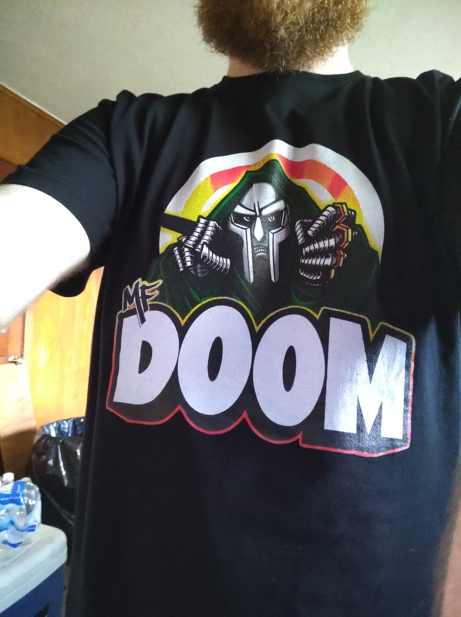 It finally came in. #MFDOOMFOREVER #RIP